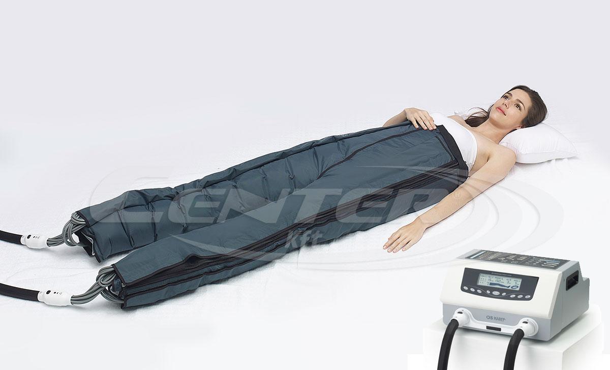 Doctor Life DL1200H hullámmasszázs gép, kezelés a professzionális nyirokmasszázs gép segítségével