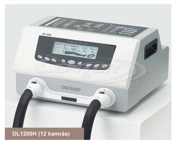 Doctor Life DL1200H hullámmasszázs gép, csúcskategóriás professzionális nyirokmasszázs gép