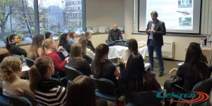 Sissy hallgatók a Centerben - Hullámmasszázs kezelés
