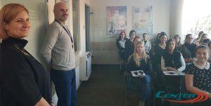 Sissy hallgatók a Centerben - kollégáinkat inspirálták a jó kérdések